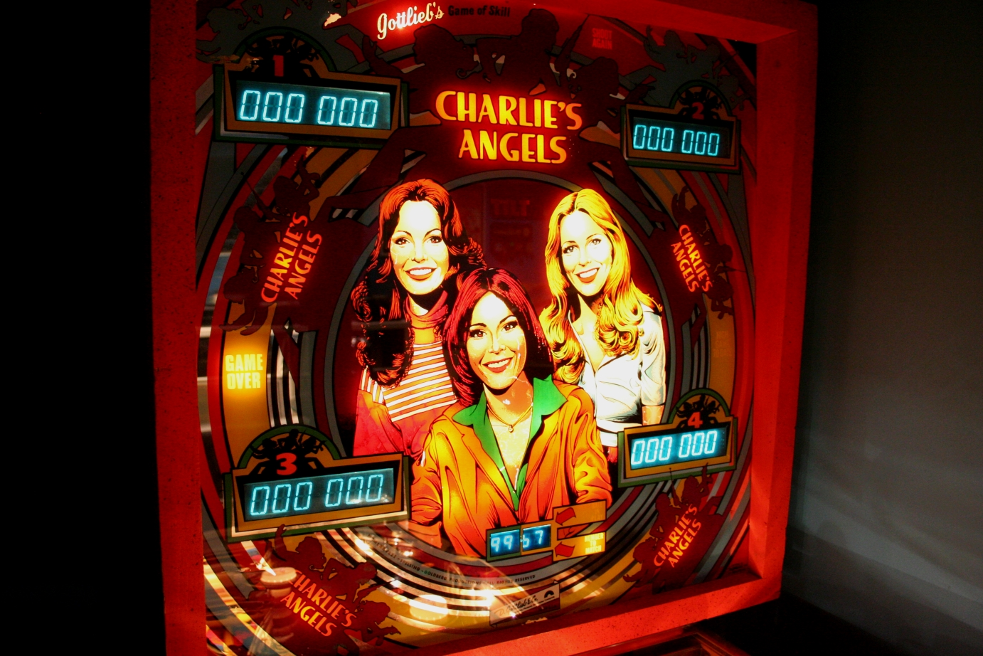 Featured Game: Gottlieb's CHARLIE'S ANGELS | CREDIT DOT